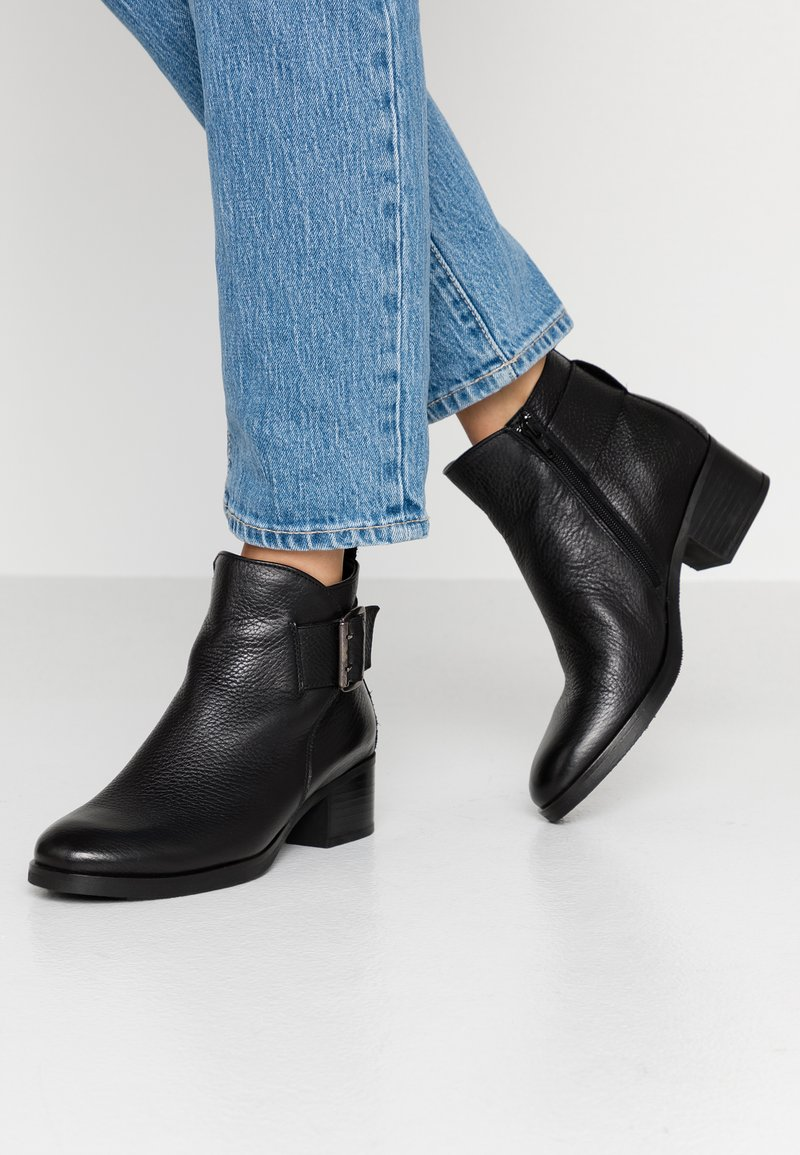 Clarks - MILA CHARM - Ankle boots - black