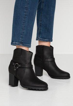VERONA ROCK - Kovbojské/motorkářské boty - black