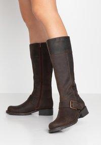 Clarks - ORINOCO JAZZ - Boots - dark brown - 0