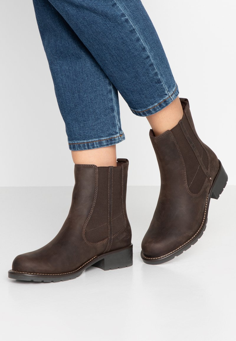 Clarks - ORINOCO HOT - Kotníkové boty - dark brown