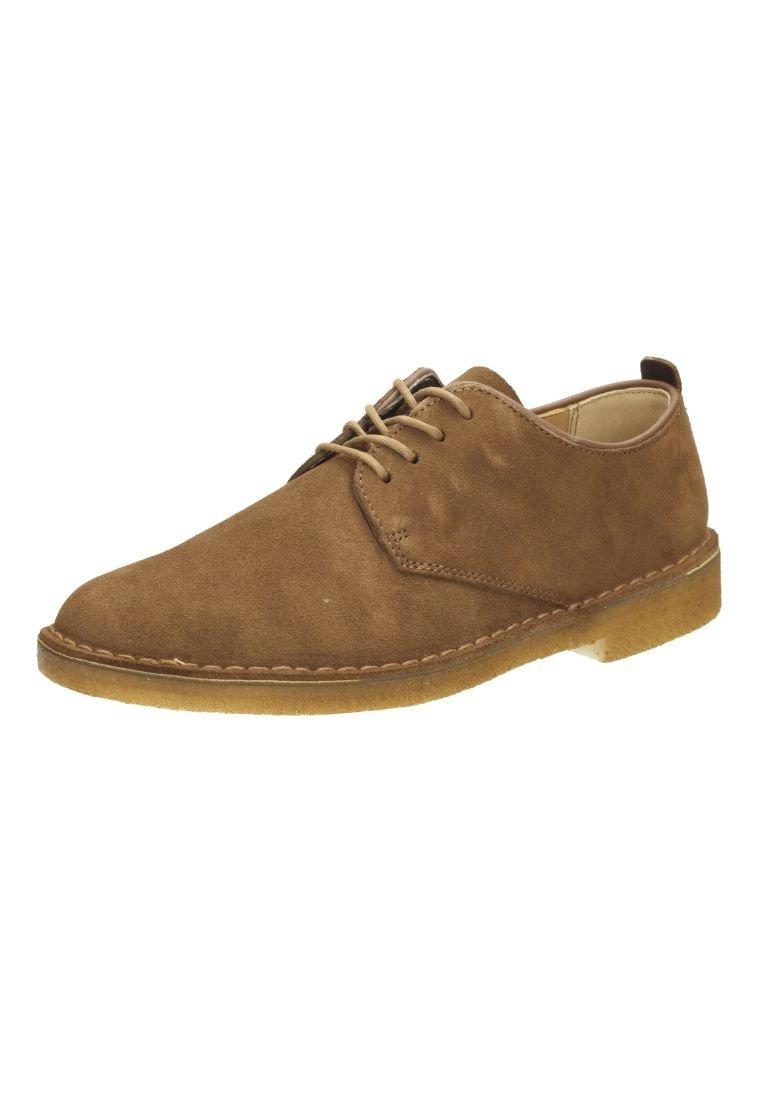 Clarks Originals - DESERT LONDON - Šněrovací boty - brown