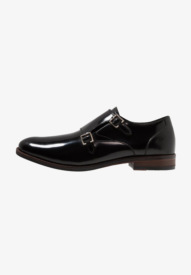 Clarks - EDWARD MONK - Eleganckie buty - black