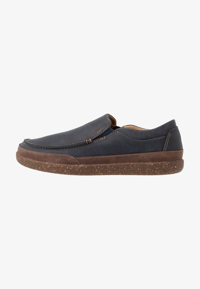 UN LISBON TWIN - Mocasines - navy