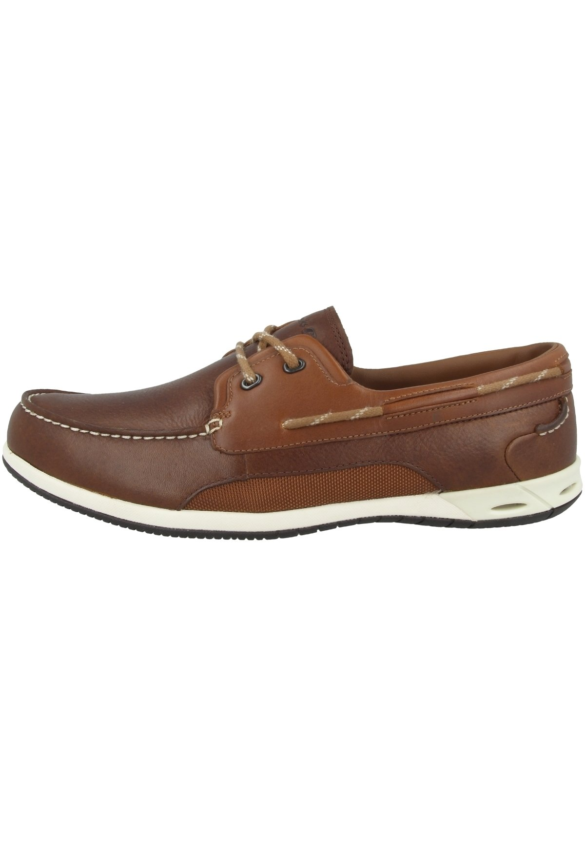 Boat shoes brown leather (20357581)
