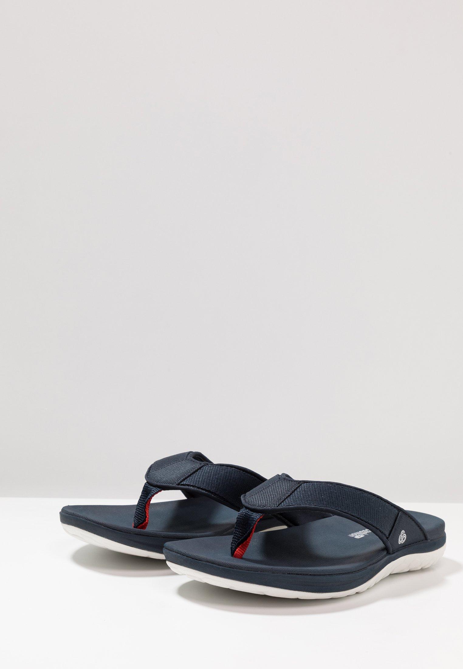 Clarks STEP BEAT DUNE - Sandaler m/ tåsplit - navy PhcTf