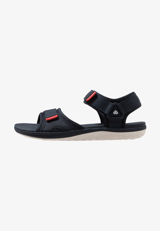 STEP BEAT SUN - Sandals - navy