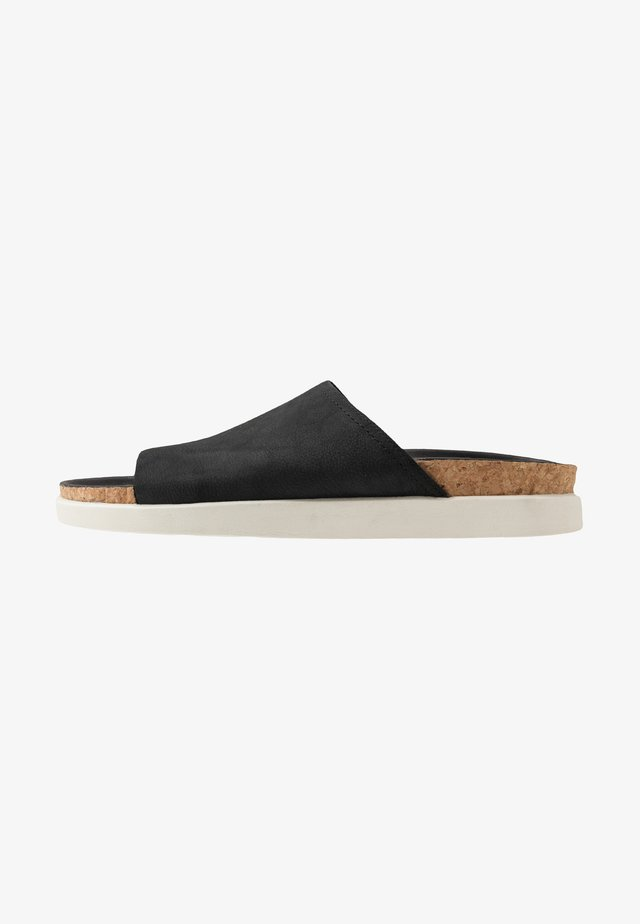 SUNDER SLIDE - Mules - black
