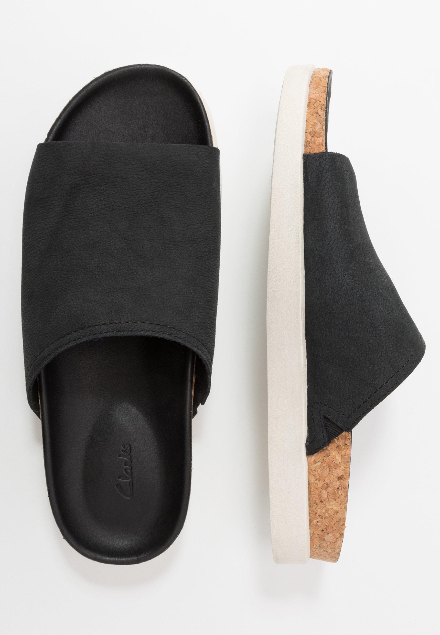 Clarks Sunder Slide - Mules Black