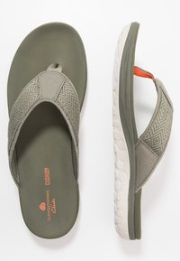Clarks - STEP BEAT DUNE - Sandalias de dedo - dusty olive - 1