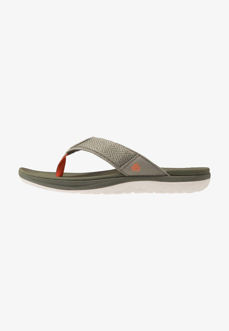 Clarks - STEP BEAT DUNE - Sandalias de dedo - dusty olive