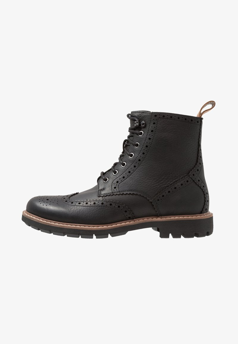 Clarks - BATCOMBE LORD - Lace-up ankle boots - noir