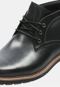 Clarks - BATCOMBE - Lace-up ankle boots - black - 3