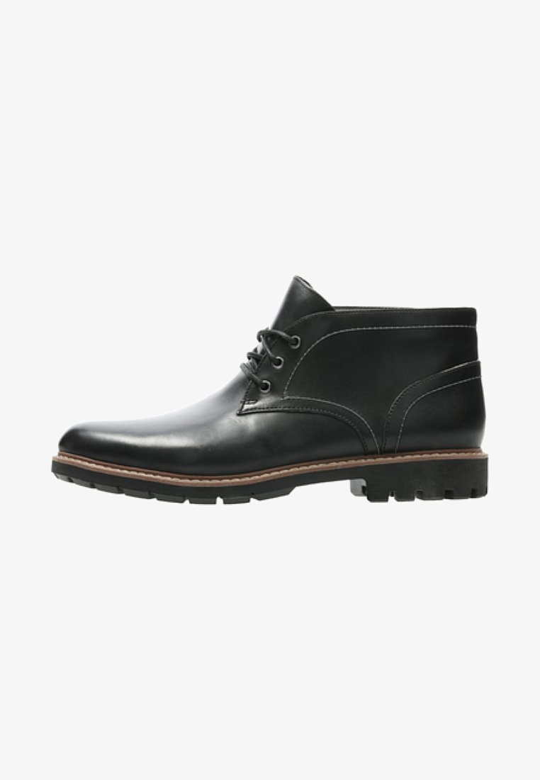 Clarks - BATCOMBE - Lace-up ankle boots - black