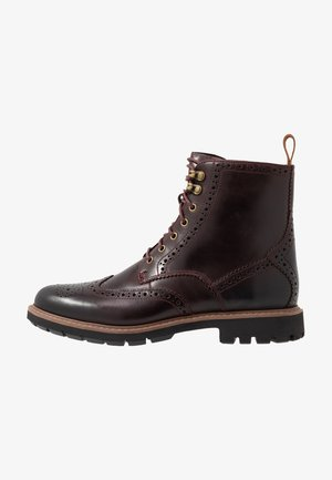 BATCOMBE LORD - Lace-up ankle boots - burgundy