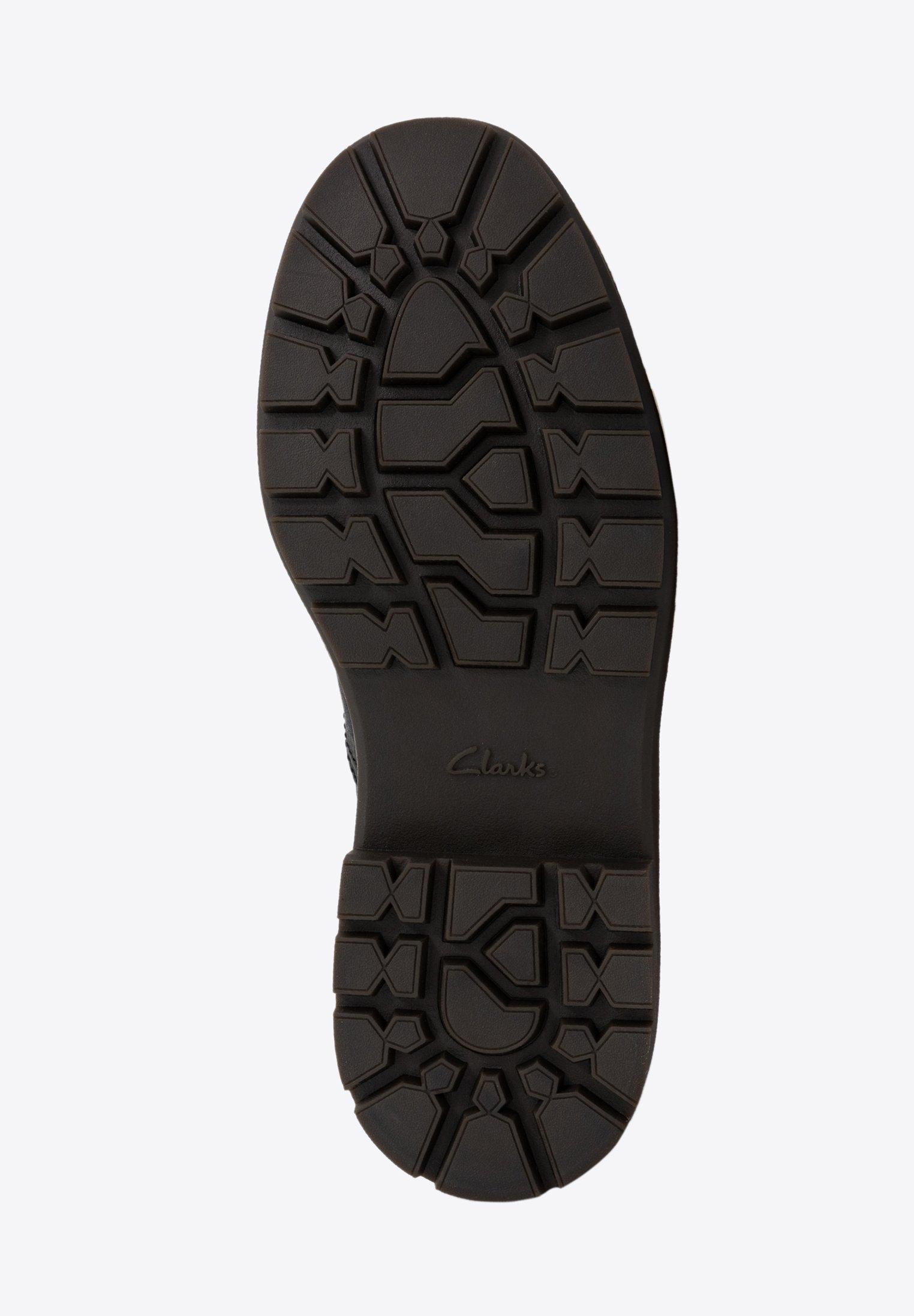 Clarks TRACE EXPLORE - Bottines à lacets black