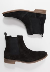 Clarks - STANFORD TOP - Classic ankle boots - black - 1