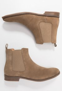 Clarks - STANFORD TOP - Classic ankle boots - dark sand - 1
