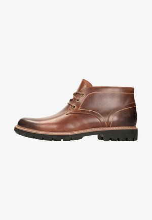 BATCOMBE LO - Casual snøresko - cuir brun foncé