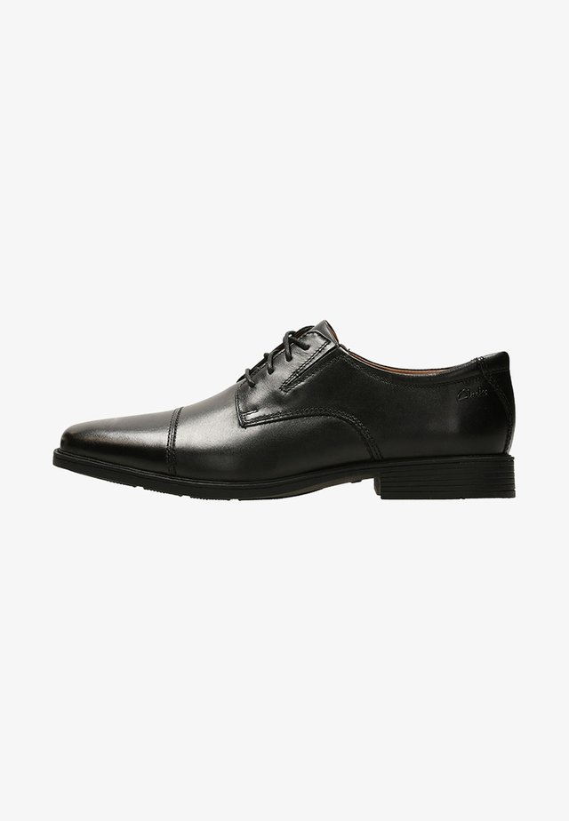 TILDEN CAP - Derbies & Richelieus - black