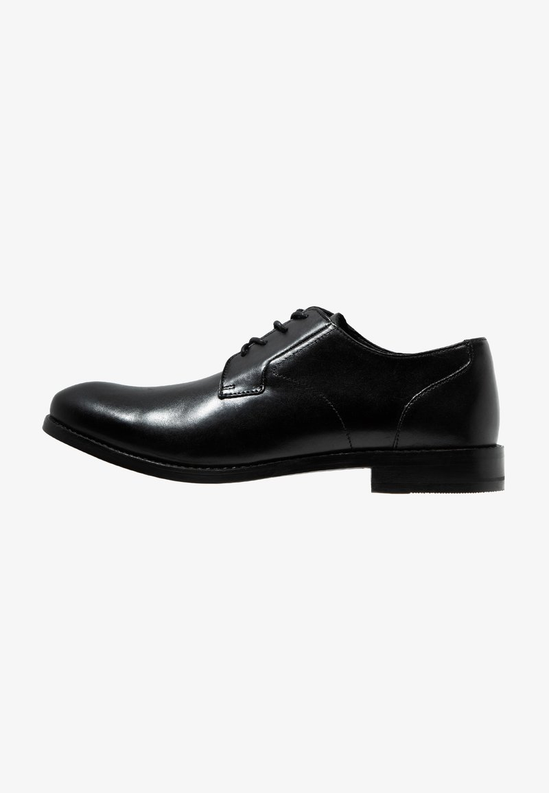 Clarks - EDWARD PLAIN - Smart lace-ups - black