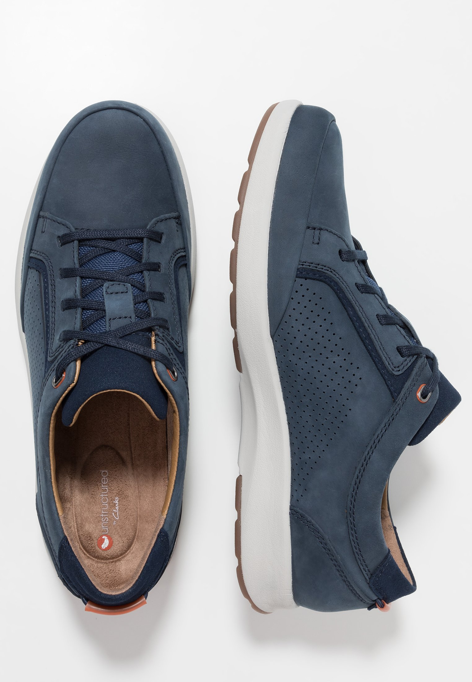 Clarks Un Trail Form - Casual Lace-ups Navy
