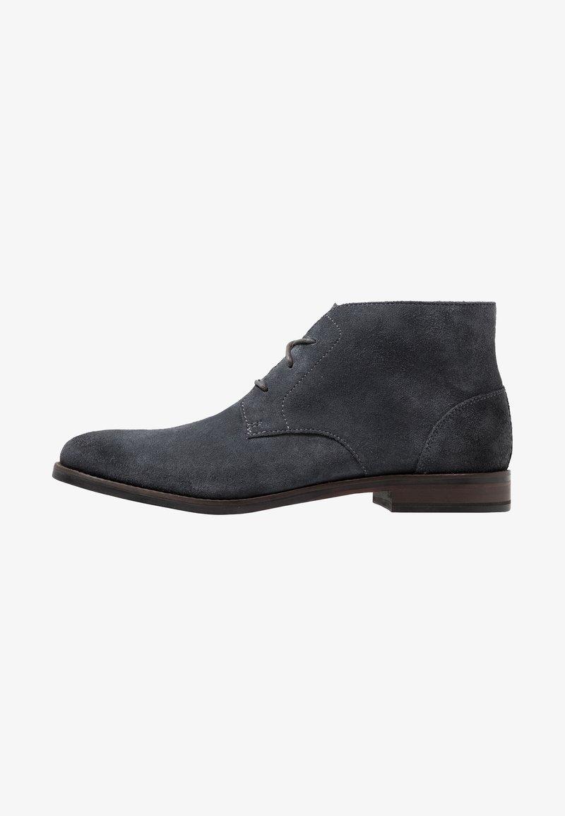 Clarks - FLOW TOP - Zapatos de vestir - navy