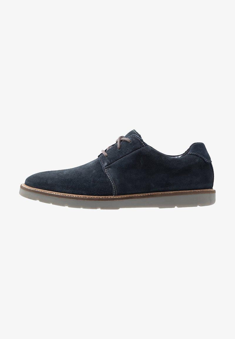Clarks - GRANDIN PLAIN - Chaussures à lacets - navy