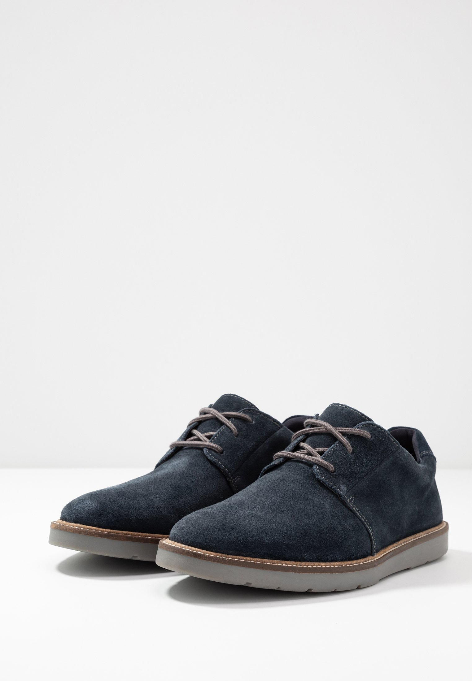 Clarks Grandin Plain - Sportlicher Schnürer Navy Black Friday