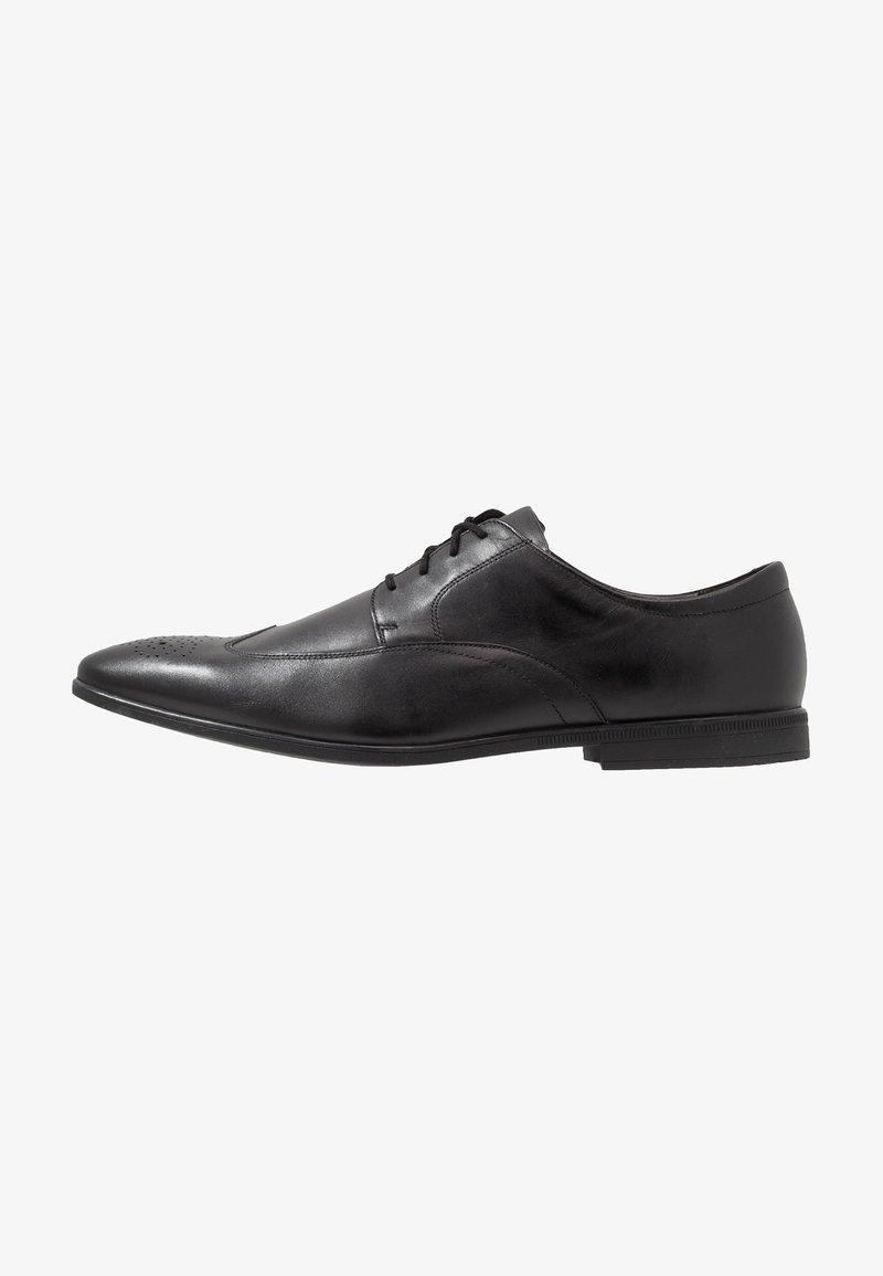 Clarks - Stringate eleganti - black
