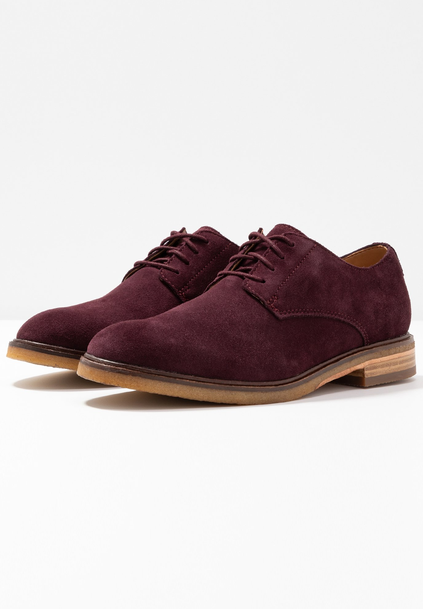 Clarks MOON - Chaussures à lacets dark purple