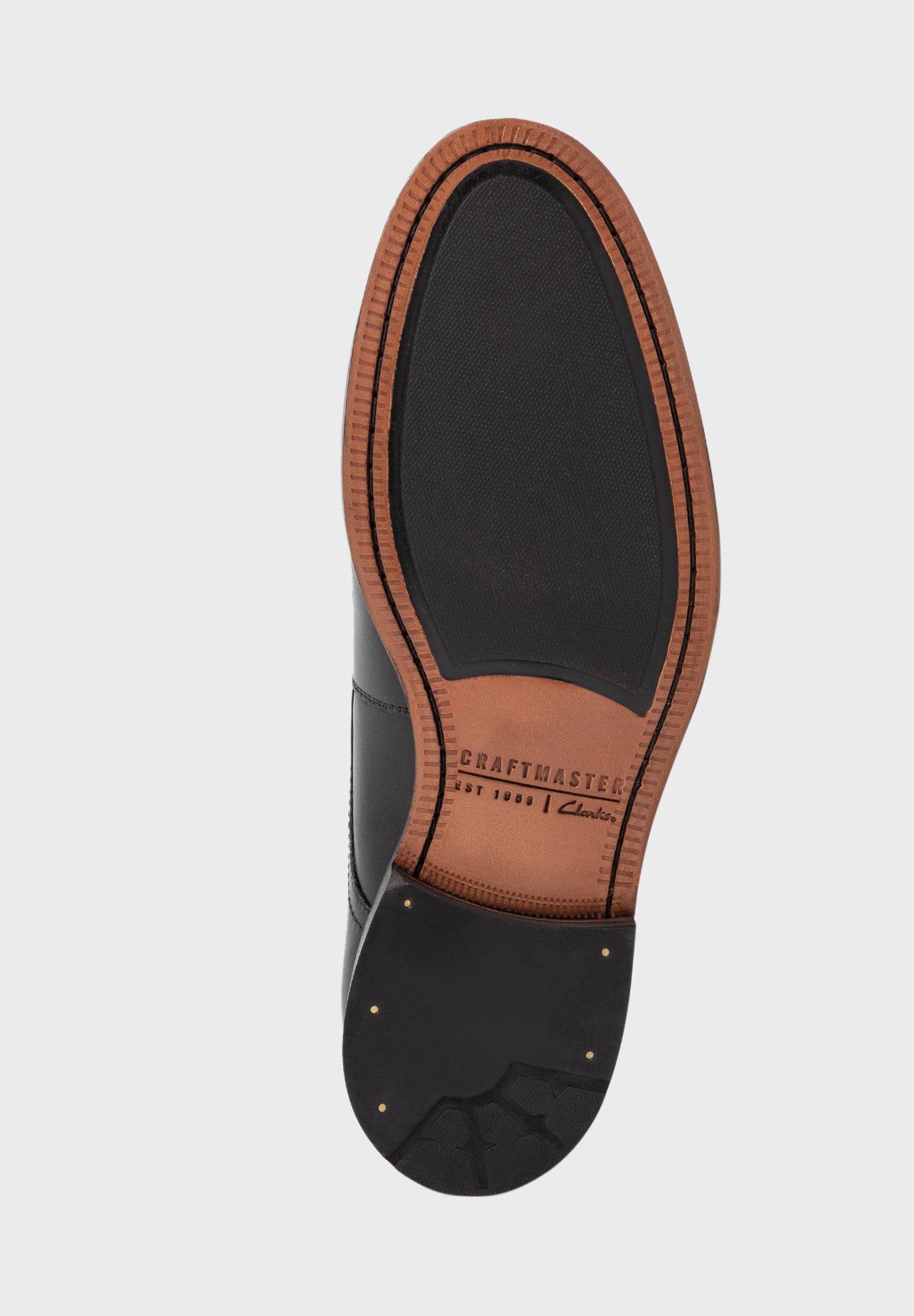 Clarks OLIVER CAP - Derbies & Richelieus black