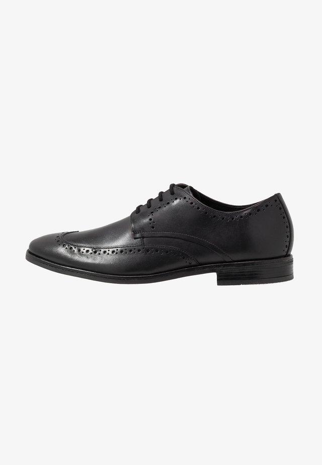 STANFORD LIMIT - Eleganckie buty - black