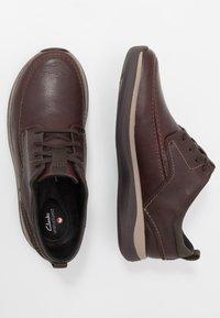 Clarks - GARRATT STREET - Casual lace-ups - mahogany - 1
