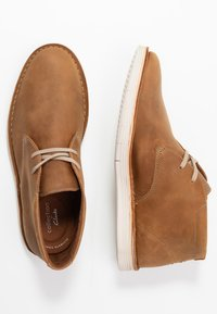Clarks - FORGE STRIDE - Casual lace-ups - tan - 1