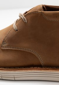 Clarks - FORGE STRIDE - Casual lace-ups - tan - 5