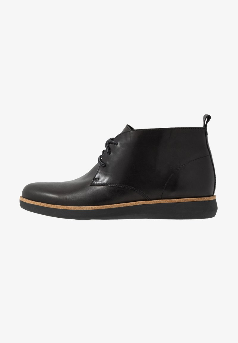 Clarks - FAIRFORD MID - Casual lace-ups - black