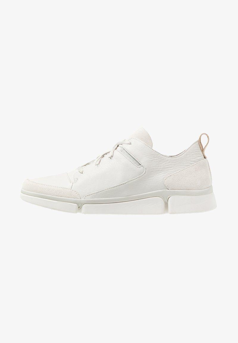Clarks - TRIVERVE LACE - Baskets basses - white