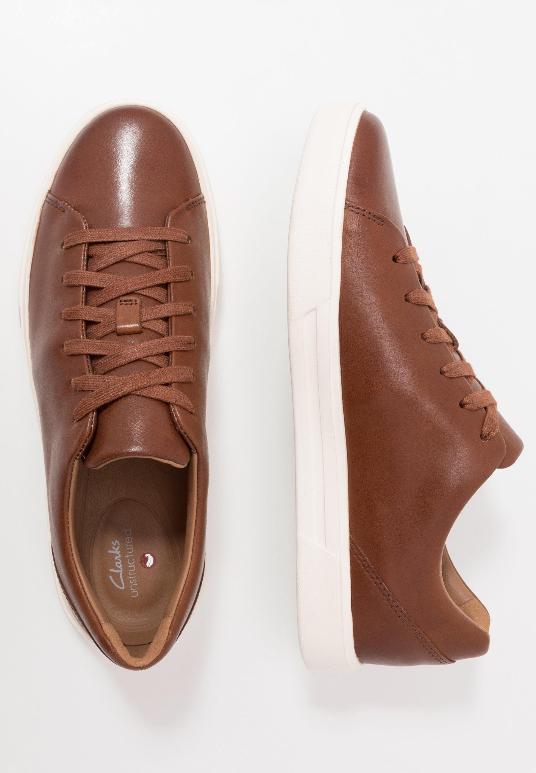 Clarks UN COSTA LACE - Sneakersy niskie - british tan