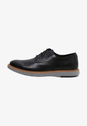 DRAPER - Chaussures à lacets - black