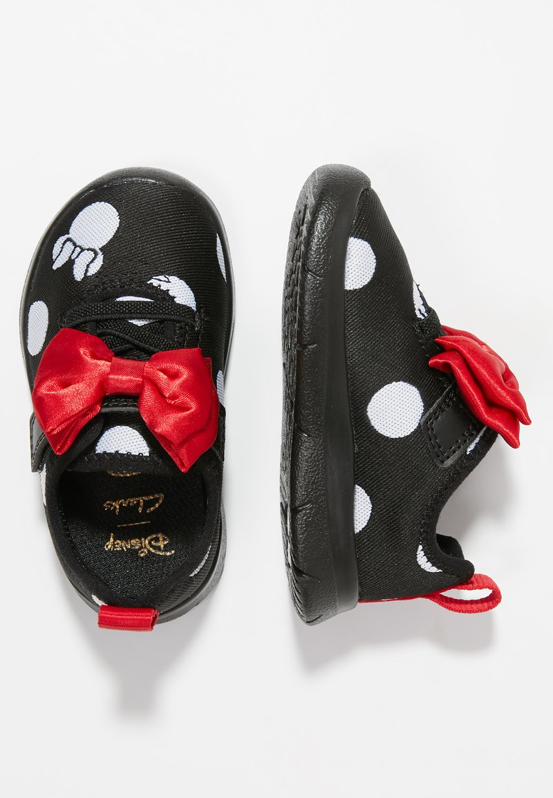 Disney Clarks - MINNIE MOUSE - Lära-gå-skor - black combi