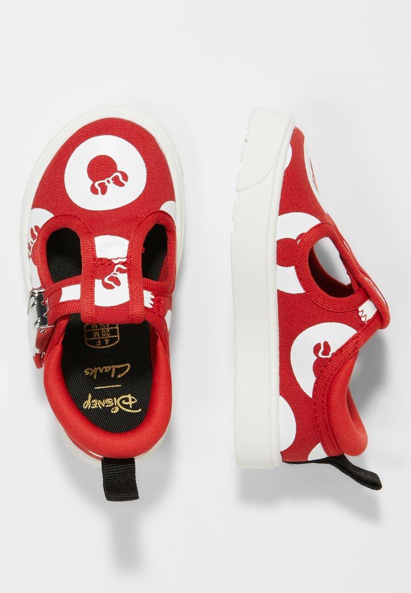 Disney Clarks - MINNIE MOUSE CITY POLKA - Zapatos de bebé - red
