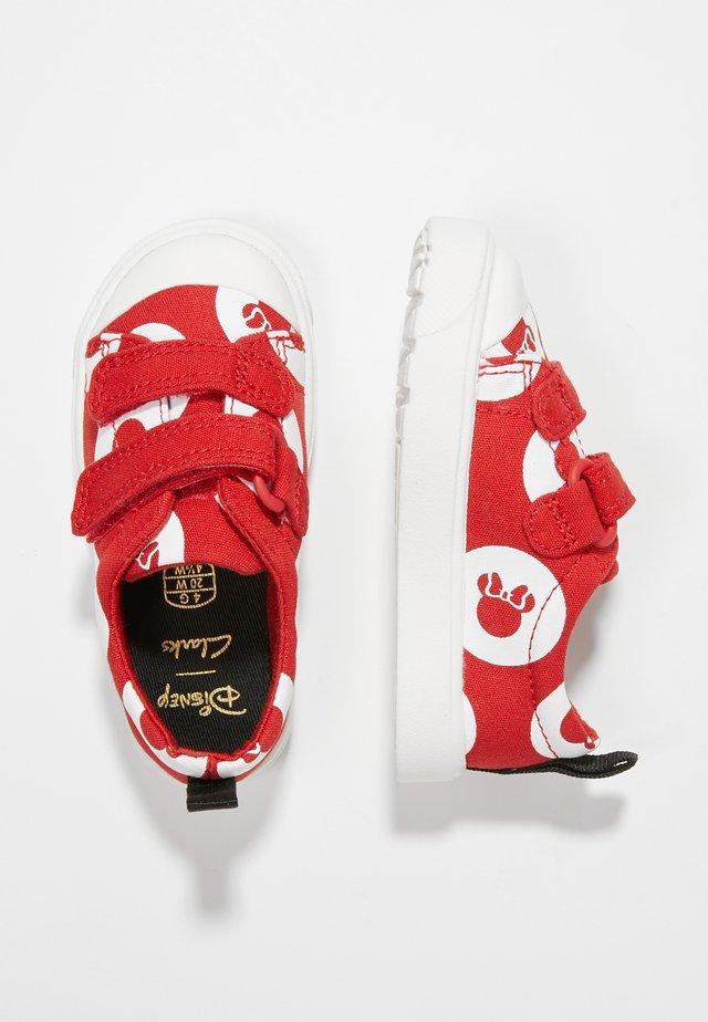 MINNIE MOUSE CITY POLKALO - Zapatos de bebé - red combi