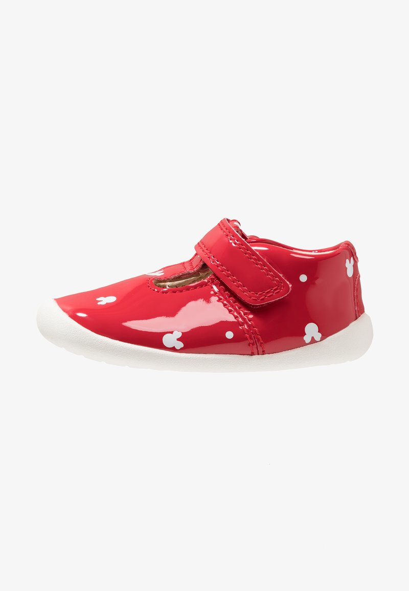 Disney Clarks - MINNIE MOUSE ROAMER POLKA - Touch-strap shoes - red