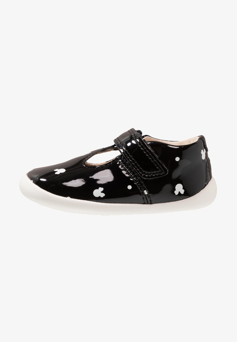 Disney Clarks - MINNIE MOUSE ROAMER POLKA - Touch-strap shoes - black