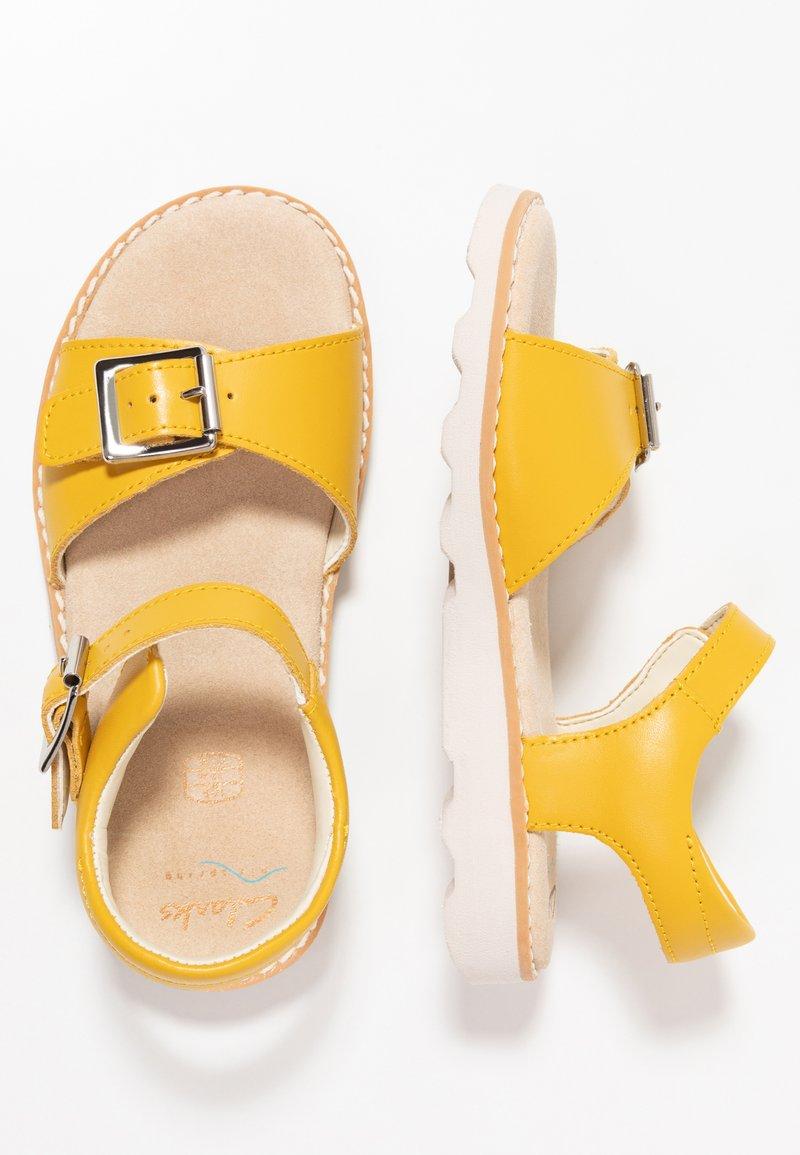 Clarks - CROWN BLOOM - Riemensandalette - yellow