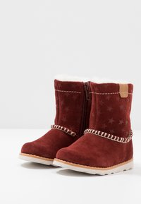 Clarks - CROWN PIPER - Classic ankle boots - dark red - 3