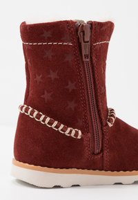 Clarks - CROWN PIPER - Classic ankle boots - dark red - 2