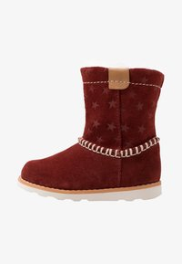 Clarks - CROWN PIPER - Classic ankle boots - dark red - 1