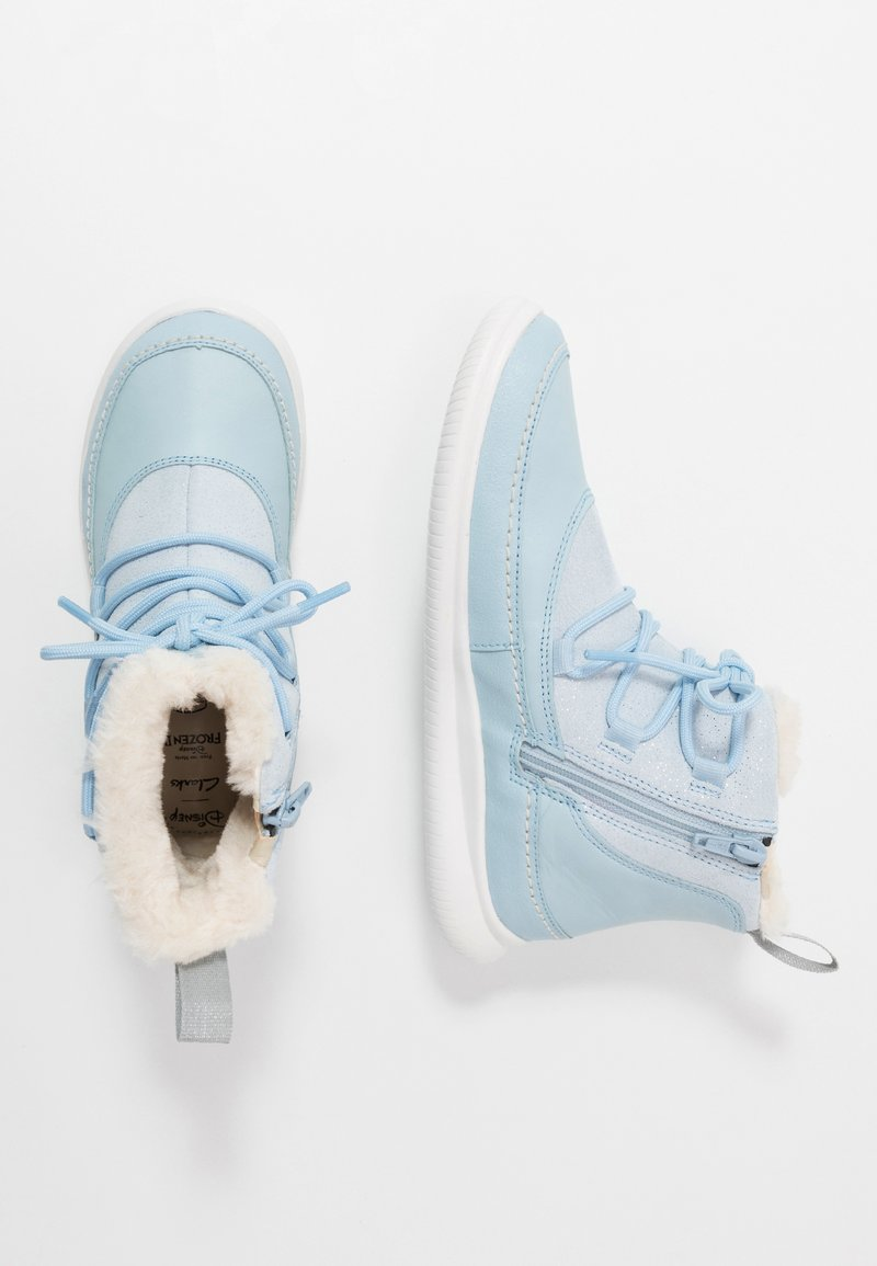 Clarks - DISNEY FROZEN CLOUD THRONE - Winter boots - blue