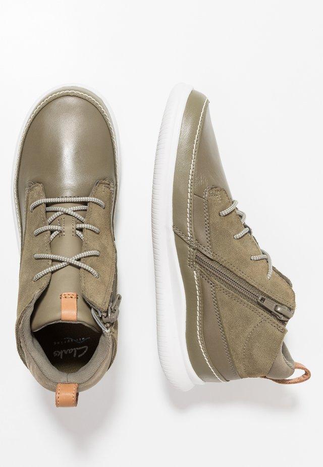 CLOUD AIR - Zapatillas altas - khaki